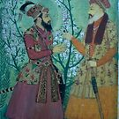 mughal art  by faryalmalikawan