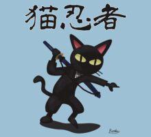 Ninja Cat Kids Tee