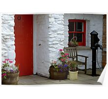 At the cottage door Poster
