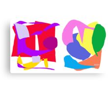 Boxes of Happiness Canvas Print