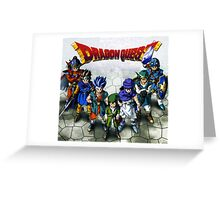 Dragon Quest Heroes Greeting Card