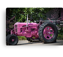 He Thinks My Tractor is Sexy Canvas Print