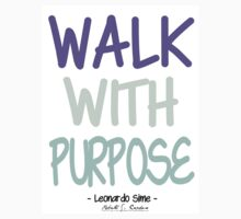 Walk With Purpose - LS by RCClothing