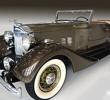 1934 Packard Super 8 by WildBillPho