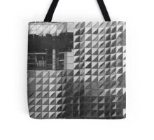 Pattern Construction Tote Bag