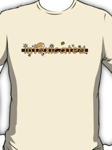 inFoxicated in Orange T-Shirt
