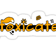 inFoxicated in Orange Sticker