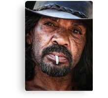 Tough as Nails Canvas Print