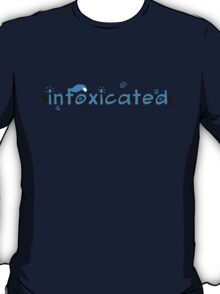 inFoxicated in Blue T-Shirt