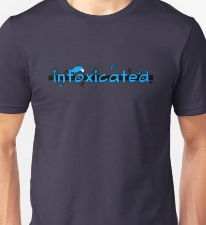 inFoxicated in Blue Unisex T-Shirt