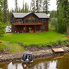 Riverfront home #1, Fairbanks, Alaska, 2012. by johnrf