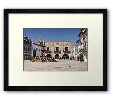 Praça da República - North view Framed Print