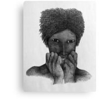 Apunda (one who is beside herself) Canvas Print