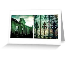 Beechworth Diptych 3 Greeting Card
