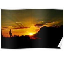A Southwest Sunrise  Poster