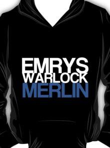 Emrys, Warlock, Merlin T-Shirt