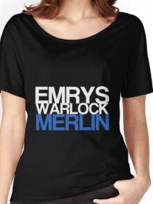 Emrys, Warlock, Merlin Women's Relaxed Fit T-Shirt