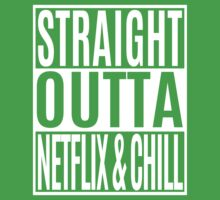 Straight Outta Netflix and Chill Kids Tee