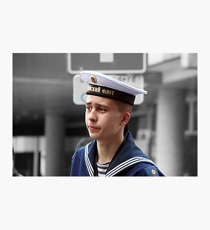 Russian sailor Photographic Print