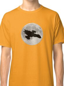 Serenity against the moon Classic T-Shirt