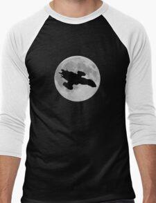 Serenity against the moon Men's Baseball ¾ T-Shirt