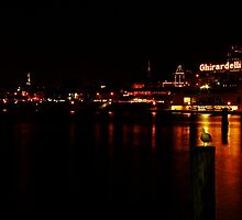 Ghirardelli at Night by fototaker