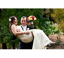 Impatient Groom Photographic Print