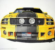Roush Mustang by Michele Filoscia