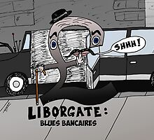 Liborgate - le scandale financier en caricature by Binary-Options