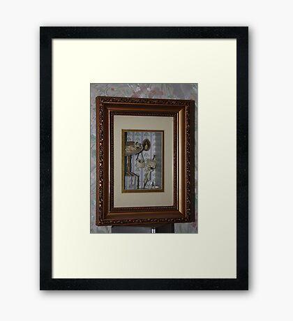 Hanging Miniatures Framed Print