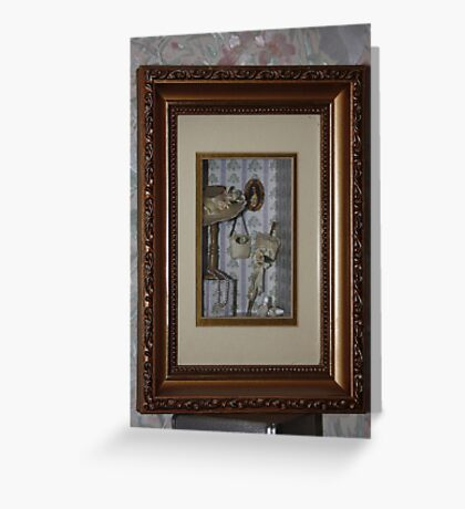 Hanging Miniatures Greeting Card