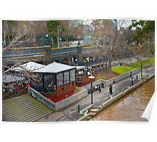 Modelling Melbourne - By The River Poster