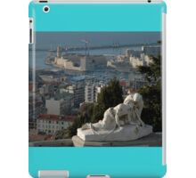 Jesus Sculpture, Fort Saint-Jean, Marseilles, France 2012 iPad Case/Skin