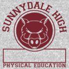 Sunnydale High PE by Dillon Finley
