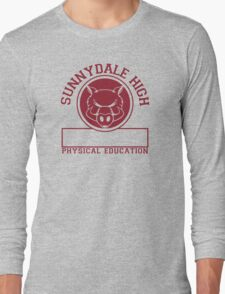 Sunnydale High PE Long Sleeve T-Shirt