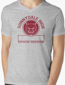 Sunnydale High PE Mens V-Neck T-Shirt
