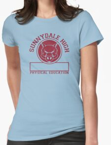 Sunnydale High PE Womens Fitted T-Shirt