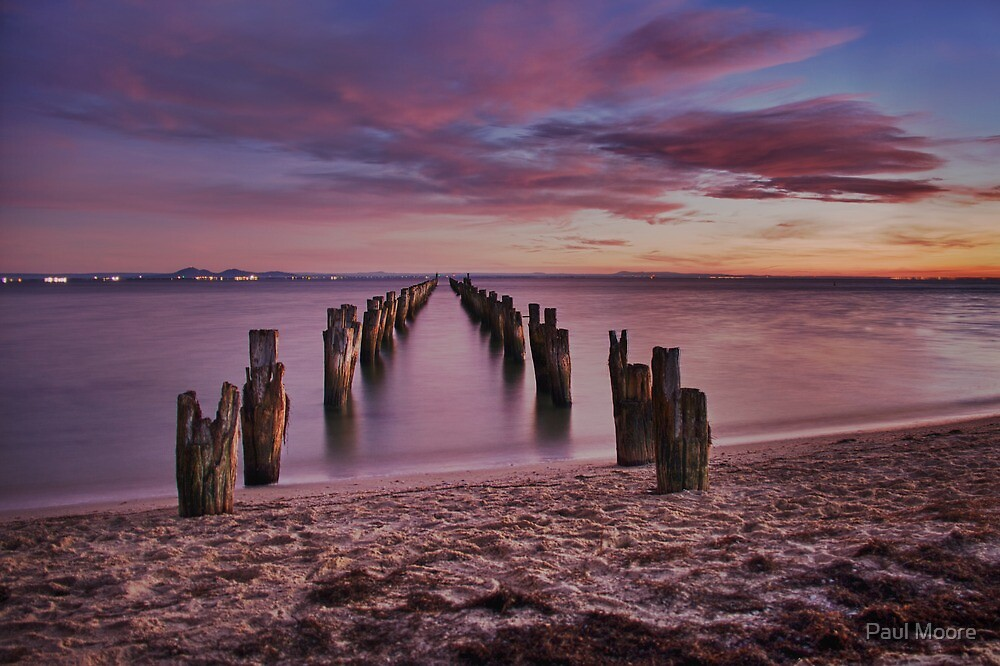 Bay of many colours by Paul Moore