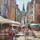 Sarlat On Saturday by vasenoir