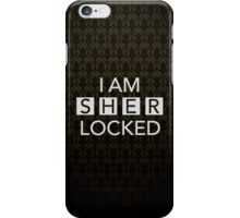 Sherlocked Wallpaper iPhone Case/Skin
