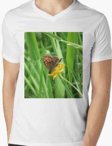 Flutterby Mens V-Neck T-Shirt