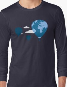trip around the world Long Sleeve T-Shirt