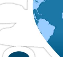 trip around the world Sticker