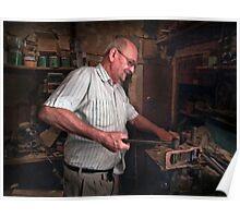Senior Craftsman ---- Qormi Malta Poster