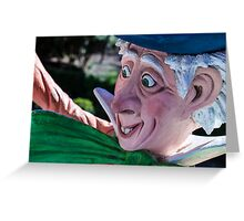 'Cuppa Tea Anyone?' - The Hatter Greeting Card
