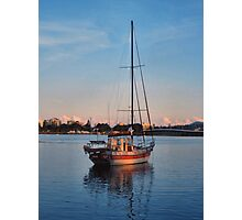 Boat at Forster NSW Australia Photographic Print