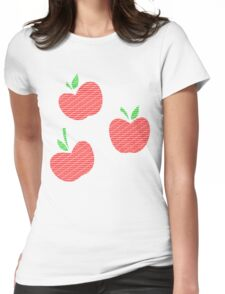 Applejack Text Womens Fitted T-Shirt
