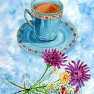 Let's have tea with milk and daisies by didielicious