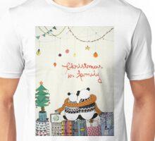 Christmas is family  Unisex T-Shirt
