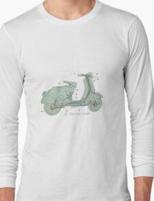Vespa Long Sleeve T-Shirt